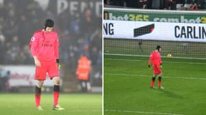 Petr Cech Apologises After Mistake Against Swansea Costs Arsenal