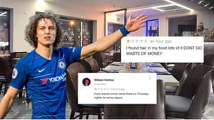 Chelsea Fans Bombard David Luiz's Restaurant With Brutal Reviews As Defender Agrees Arsenal Move