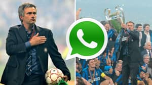 Jose Mourinho Still Uses Whatsapp Group With Inter Players