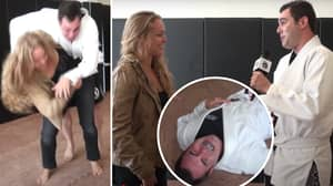 Ronda Rousey Once Broke Presenter's Ribs With Judo Throw After Claiming 'She Can't Compete With A Man'