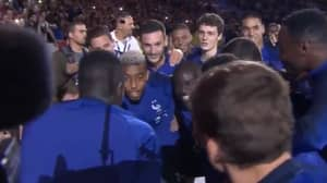 France Players Singing N'Golo Kanté's Song With 80,000 Fans Is The Best