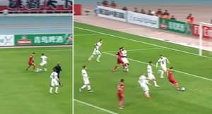 WATCH: Oscar's Latest Goal In China Shows He's A Class Above The Rest