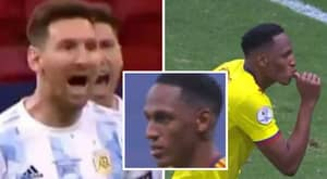 Yerry Mina Breaks His Silence To Respond To Lionel Messi's Brutal Copa America Taunts