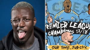 Benjamin Mendy's Twitter Feed Is On Fire After City Win The League