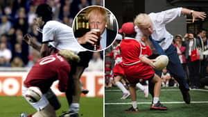 Next UK Prime Minister Boris Johnson Has Given Us Some Hilarious Sporting Memories