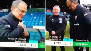 Marcelo Bielsa And Sammy Lee Agreed To Swap Coats In Brilliant Exchange