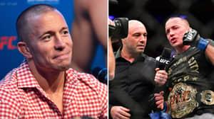Georges St-Pierre's Coach Explains The UFC Legend Is Worried About Alien Abduction