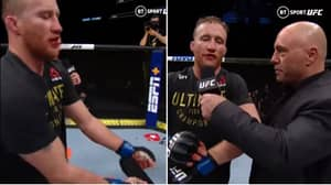 Why Justin Gaethje Threw The UFC Title On The Floor After Victory Over Tony Ferguson At UFC 249