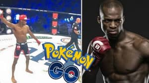 MIchael 'Venom' Page Celebrates KO By Throwing Pokeball At Opponent
