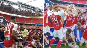 Pierre-Emerick Aubameyang's Trophy Lift Was An Absolute Disaster
