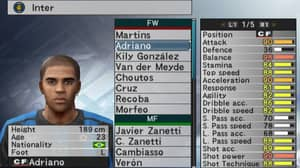 Adriano Is Returning To PES 2019 And It Looks Like His 99 Shot Power Is Too