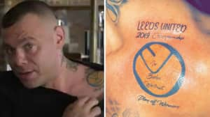 Leeds Fan Was So Confident About Promotion That He Got Play-Off Winners Tattoo