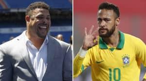 Ronaldo Sends Heartwarming Message To Neymar After Latest Milestone For Brazil