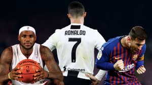 Cristiano Ronaldo Named The Most Famous Athlete Of 2019