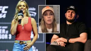 UFC's First Female Commentator Defends Khabib Over Controversial Ring Girl Comments