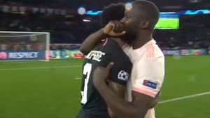 Romelu Lukaku Told PSG's Presnel Kimpembe 'These Are The Times You Learn' After Costly Handball