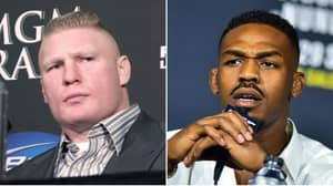 Jon Jones Reacts To Brock Lesnar Becoming A Free Agent After Leaving WWE