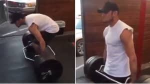 Tony Ferguson Deadlifting Is The Most Awkward Thing You'll Watch Today