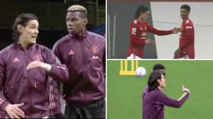 Edinson Cavani Giving Teammates Advice Shows How Crucial His Influence Has Been At Manchester United