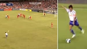 The Greatest 'Forgotten' Free-Kick Goal Was Scored Against Liverpool In Premier League Asia Trophy Game