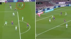 Lionel Messi Nearly Breaks The Net With Stunning Finish To End Open Play Goal Drought