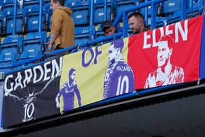 Chelsea To Remove 'Garden Of Eden' Banner After Hazard's Transfer To Real Madrid