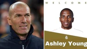 Fake Real Madrid Tweet Announcing Signing Of Ashley Young Goes Viral