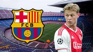 Barcelona Set To Sign Ajax Star Frenkie De Jong In The 'Next 48 Hours'
