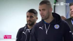 WATCH: Riyad Mahrez On Camera Talking Up Chelsea