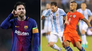 What Arturo Vidal Said About Lionel Messi Resurfaces Ahead Of Barcelona Transfer