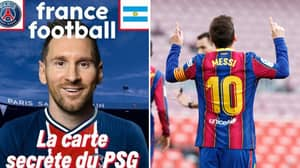 Lionel Messi's PSG Shirt Number Revealed Ahead Of Sensational Free Transfer
