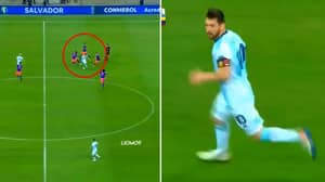 Video From Argentina's 2-0 Loss To Colombia Proves Lionel Messi Is A One-Man Team
