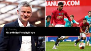 Rival Fans Get #ManUnitedPenaltyBingo Trending On Twitter During United Vs Southampton