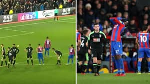 Cristian Benteke Produces A Shocking Penalty In 93rd Minute For Crystal Palace