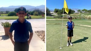11-Year-Old Boy Hits Two Hole-In-One Shots During The Same Golf Round