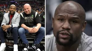 Dana White Gives Exciting Update On Floyd Mayweather
