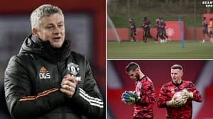 Ole Gunnar Solskjaer Asks For 'Smiley Pictures Of De Gea & Henderson' In Hilarious Training Footage