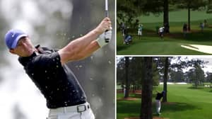 Rory McIlroy Somehow Manages To Hit His Own Dad At The Masters