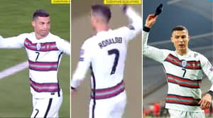 Cristiano Ronaldo Slammed For Throwing Captain's Armband And Storming Off Pitch