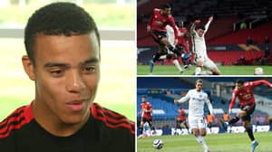 Manchester United Star Mason Greenwood FINALLY Reveals Which Foot Is His Strongest
