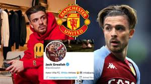Jack Grealish Drops Huge Man Utd Transfer Hint With Social Media Activity