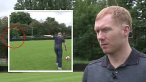 The Time Paul Scholes Got Annoyed At Some Fans Who Were Being Loud During An Interview