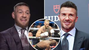 Conor McGregor Reveals Hilarious Messages He And David Beckham Shared Ahead Of Floyd Mayweather Fight