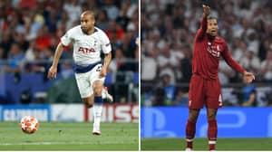 Lucas Moura Doesn't Believe No-One Dribbled Past Virgil Van Dijk Last Season