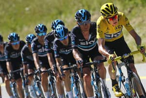 Chris Froome Has Done A Lot Of Drugs Tests During The Tour