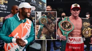 Floyd Mayweather Responds To Claims Canelo Alvarez Would Beat Floyd In His Prime
