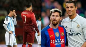 There's Only Two Players That Have Played With Both Cristiano Ronaldo And Lionel Messi