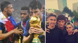 Benjamin Pavard Watched Euro 2016 With His Mates, Now He's A World Cup Winner