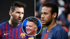 Rivaldo Slams Louis Van Gaal's 'Unfair' Criticism Of Lionel Messi And Neymar
