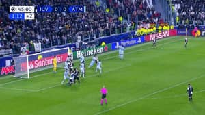 Paulo Dybala Scores Outrageous Free-Kick For Juventus In The Champions League